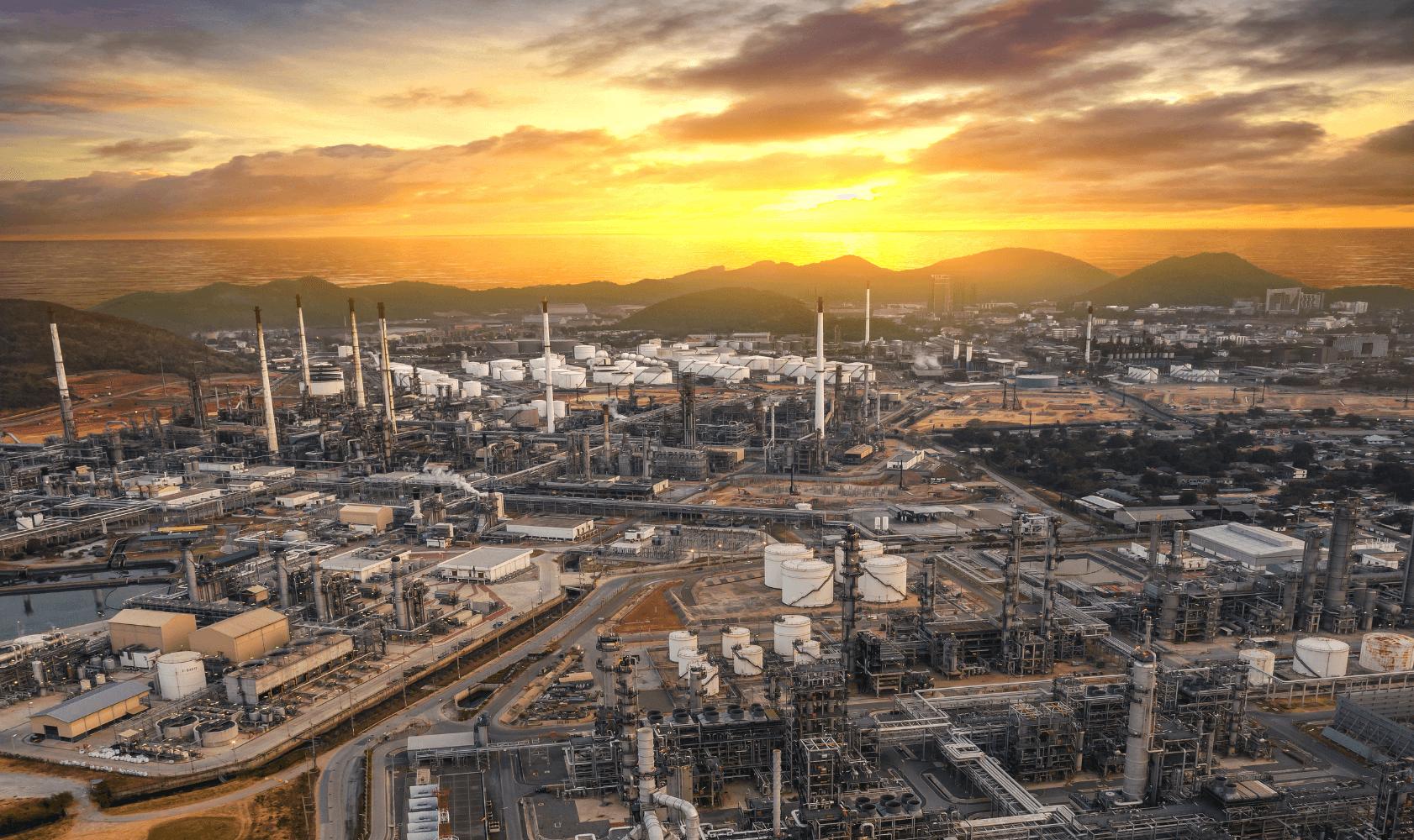 Refinery Louisiana and Texas