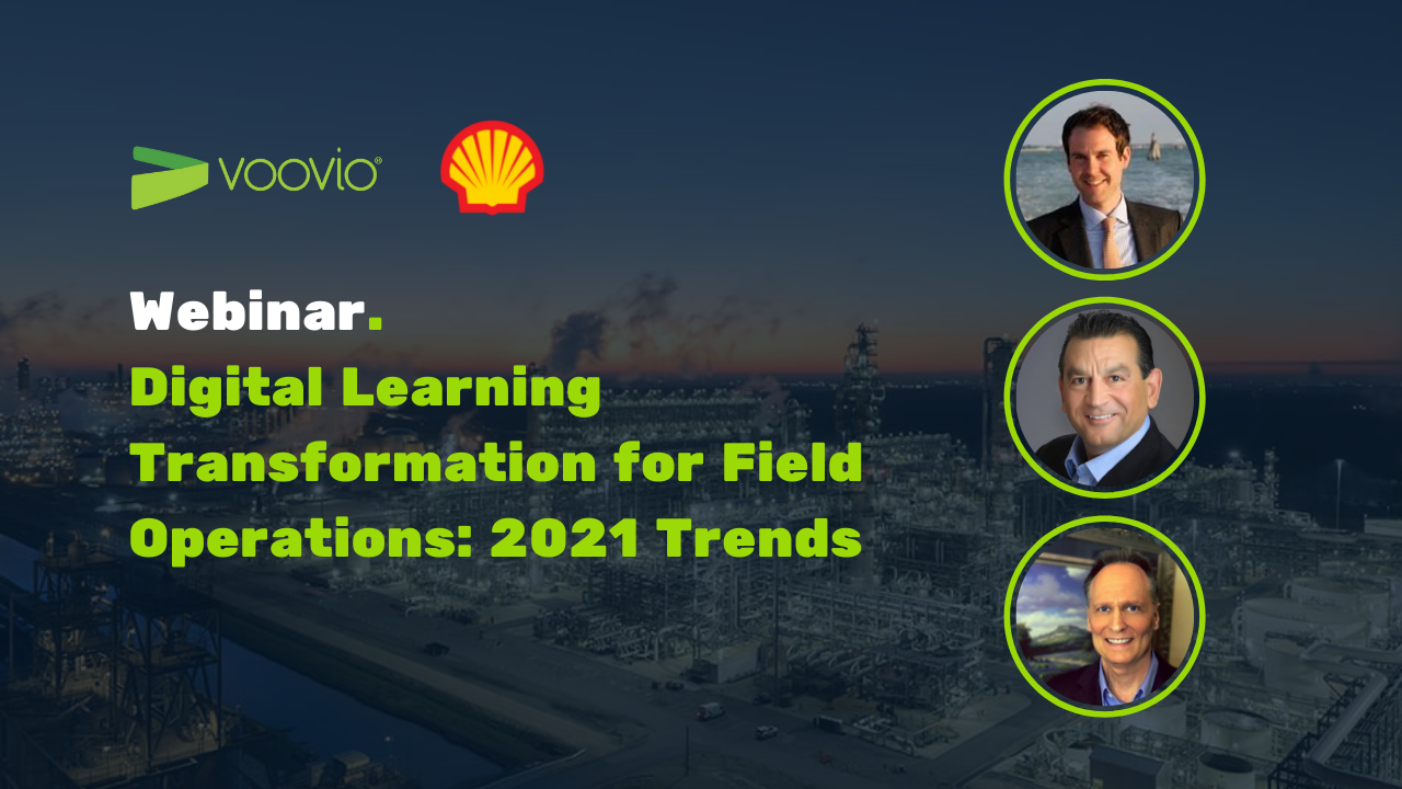 Voovio Webinar with Shell Digital Learning Transformation