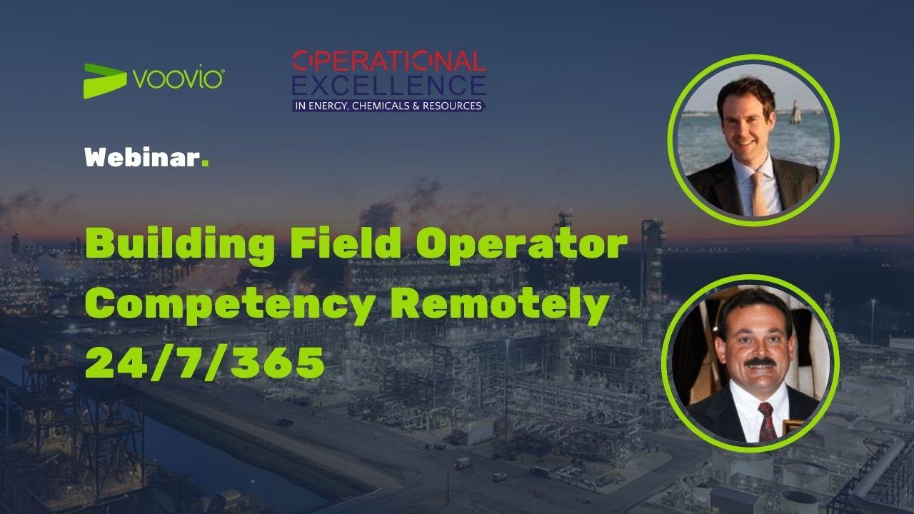 Webinar Building field operator competency remotely