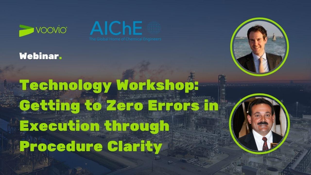 Webinar Voovio at AIChE Virtual Spring Meeting 2021
