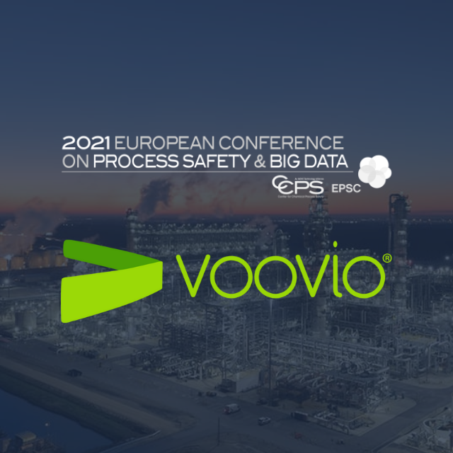 Voovio at AIChE Virtual European Conference on Process Safety and Big Data